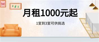 月租1000元起 1